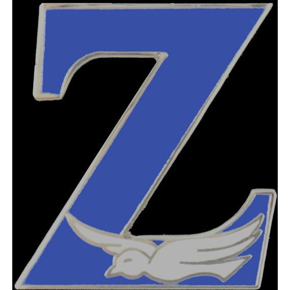 Zeta Phi Beta Mascot Lapel Pin 3