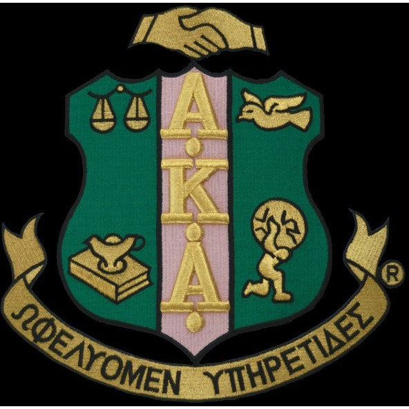 Alpha Kappa Alpha Shield Patch