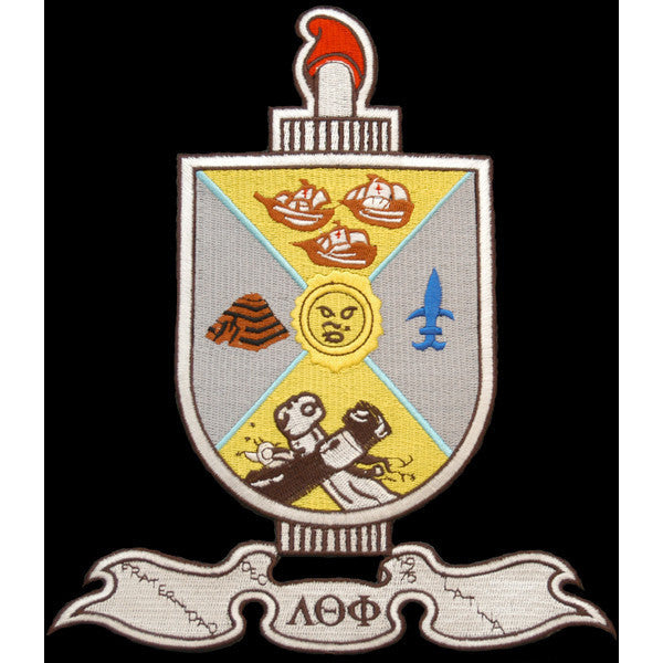 Lambda Theta Phi Shield Patch