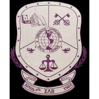 Sigma Lambda Beta Shield Patch