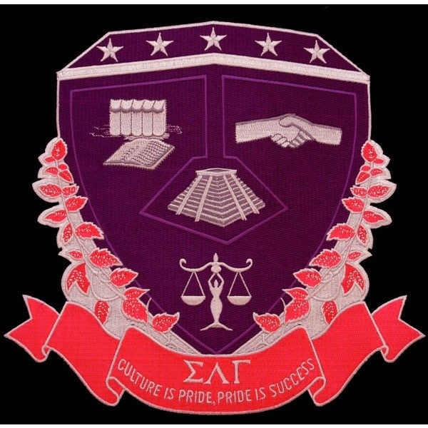 Sigma Lambda Gamma Shield Patch