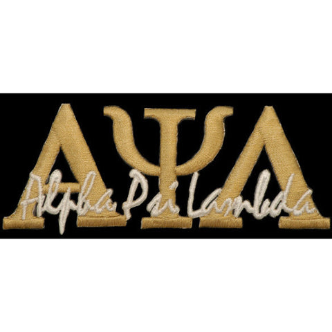 Alpha Psi Lambda Signature Patch