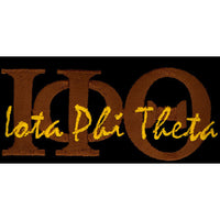 Iota Phi Theta Brown Signature Patch