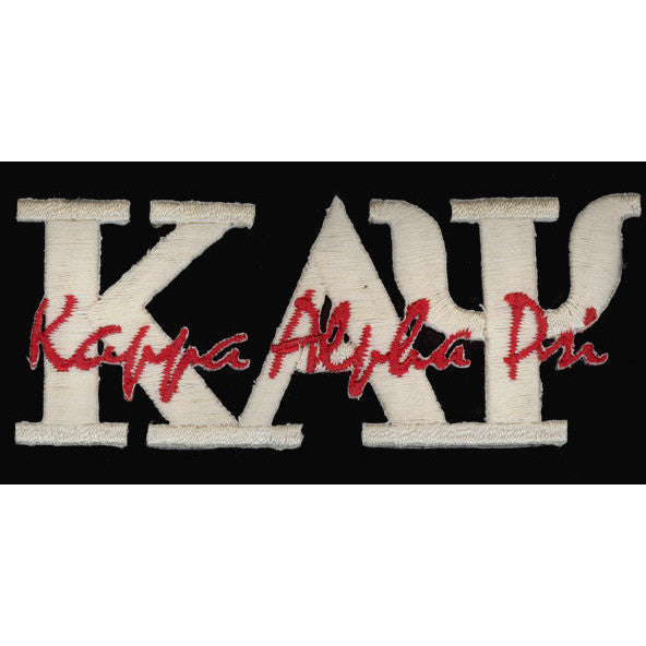 Kappa Alpha Psi Signature Patch 2