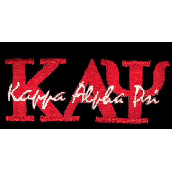 Kappa Alpha Psi Signature Patch