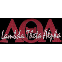 Lambda Theta Alpha Signature Patch