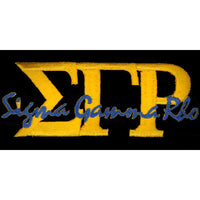 Sigma Gamma Rho Signature Patch