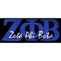 Zeta Phi Beta Signature Patch