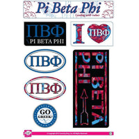 Pi Beta Phi Lifestyle Sticker Sheet