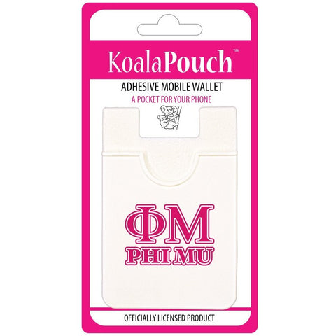 Phi Mu Cell Phone Pouch