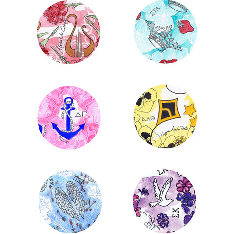 Sorority Printed Buttons
