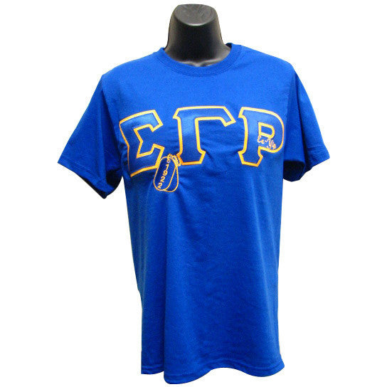 Sigma Gamma Rho Embroidered DT Tee