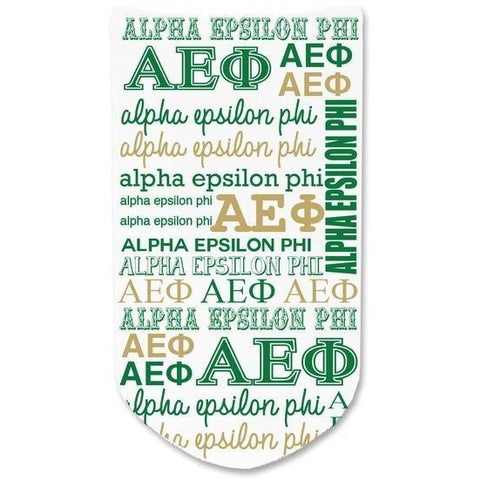 Alpha Epsilon Phi No-Show Socks