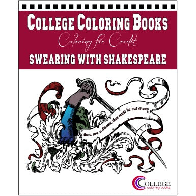 Shakespeare Insults Coloring Book