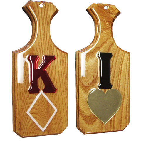 Reflective Sweetheart Paddles