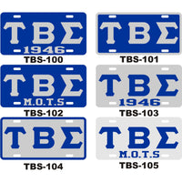Tau Beta Sigma License Tag 2