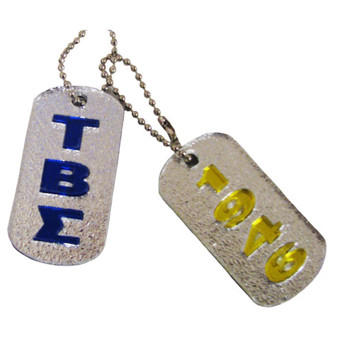 Tau Beta Sigma Dogtags
