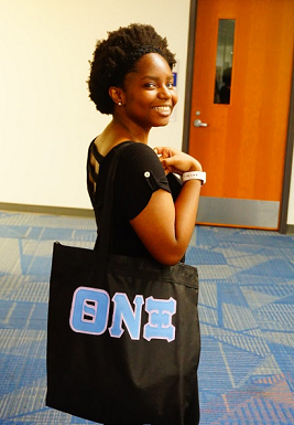 Theta Nu Xi Greek Tote Bag
