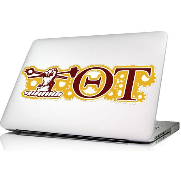Theta Tau Laptop Skin/Wall decal