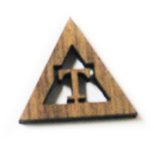 "Triangle ""T"" Mini Symbol"