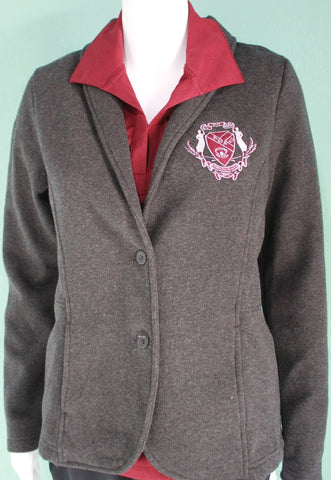Lambda Theta Alpha Ladies Fleece Blazer