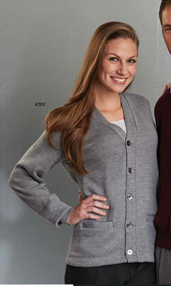 A+ Unisex Solid Colored Cardigan