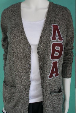 Lambda Theta Alpha Ladies Cardigan Sweater