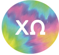 Chi Omega Printed Button Collection 2020