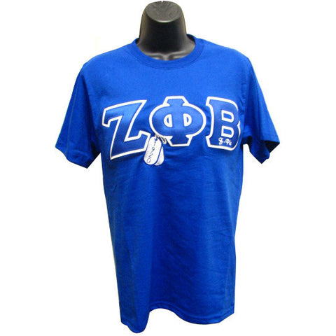 Zeta Phi Beta Embroidered DT Tee