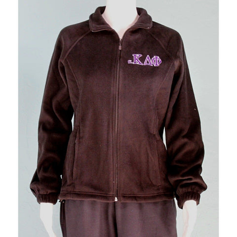 alpha Kappa Delta Phi Zip Fleece