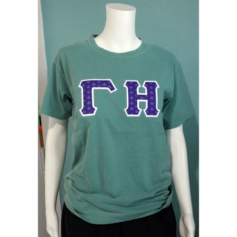Gamma Eta Comfort Colors Greek Tee