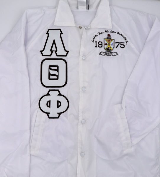 Lambda Theta Phi Crossing Jacket With Shield