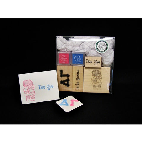 Delta Gamma Rubber Stamp Kit