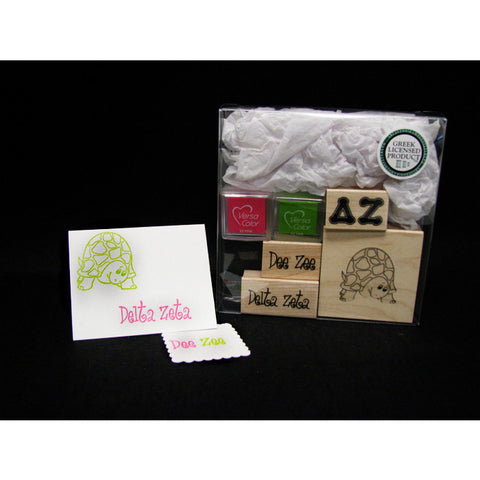 Delta Zeta Rubber Stamp Kit