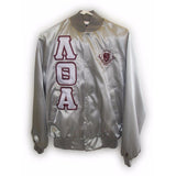 Lambda Theta Alpha Satin Jacket with Shield