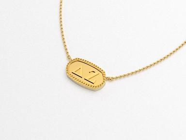 Delta Zeta Athena Necklace