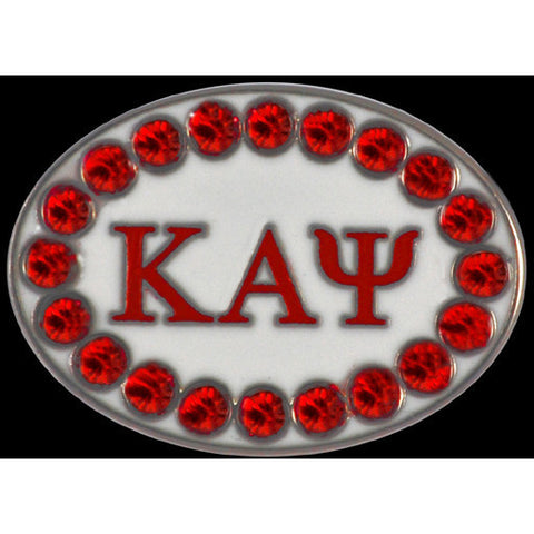 Kappa Alpha Psi Swarovski Austrian Crystal Cuff Links