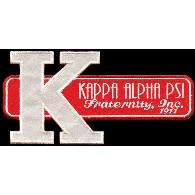 Kappa Alpha Psi Retro Satin Twill Embroidery Patch