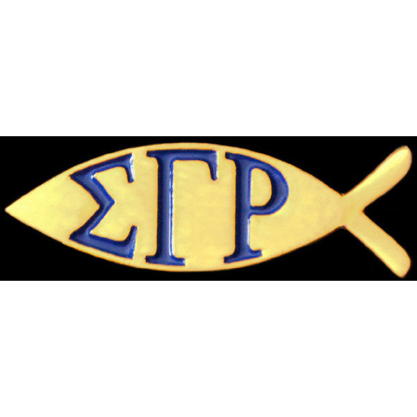 Sigma Gamma Rho Fish Pin