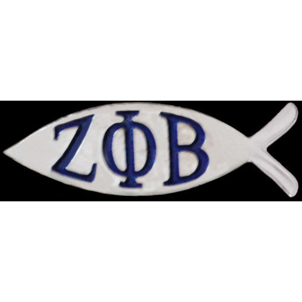 Zeta Phi Beta Fish Pin