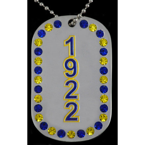 Sigma Gamma Rho Bling Dogtags