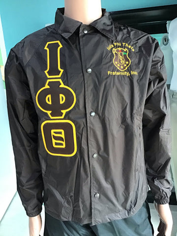 Iota Phi Theta Brown Crossing Jacket