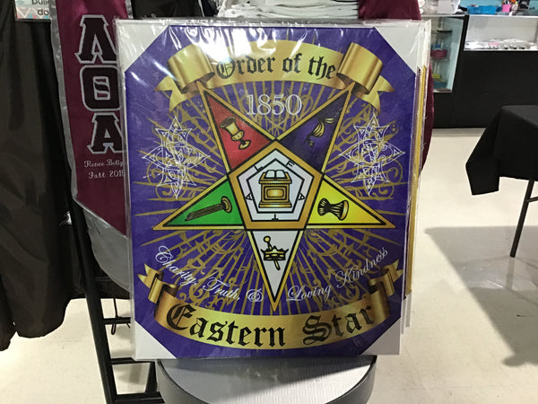 Order of the Eastern Star Crest Portraits