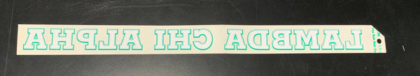 Lambda Chi Alpha Horizontal Decal