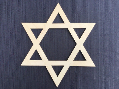 Star of David Wood Board