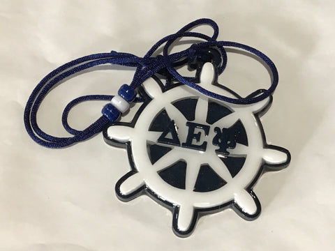 Delta Epsilon Psi Captain Wheel Tiki