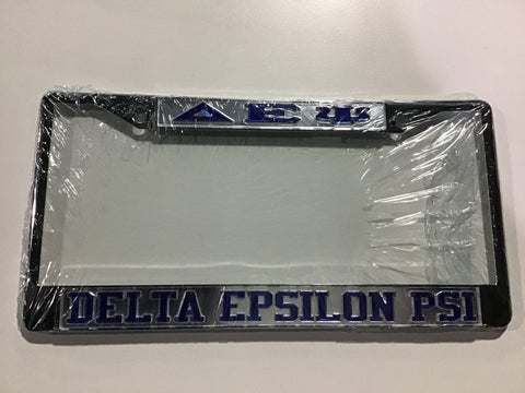 Delta Epsilon Psi License Frame