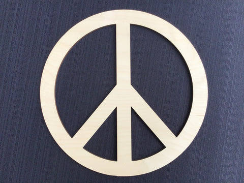 Peace Sign Wood Board