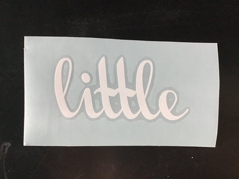"""Little"" Decal"