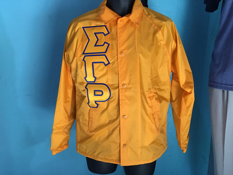 Sigma Gamma Rho Gold Crossing Jacket